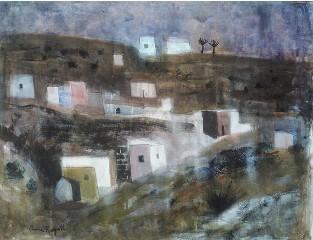 Anne Redpath's 'Houses near Las Palmas'