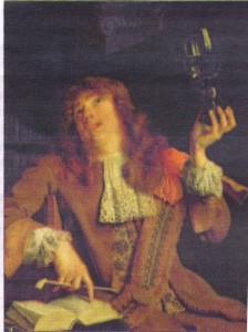 """Arie de Vois's """"The Wanton Student"""""""